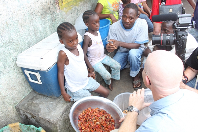 Mitch meets Zoe and Baby- child slaves in Liberia
