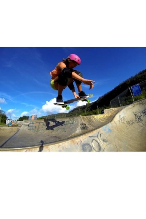Jordyn Barratt of Haleiwa, 14 years old