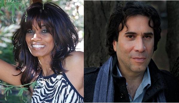 Host Candace Chambers-Belida and Musician Gordon Bahary