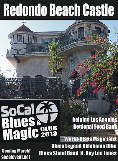 SoCal Blues & Magic Club Fundraiser Series