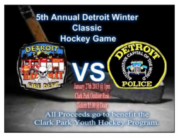 2013 Detroit Police & Fire Dept 5th annual hockey