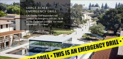 Claremont McKenna College Emergency Drill