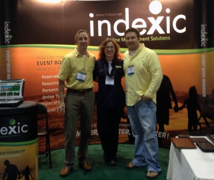 (L) Mark Fox / Barbara Fox - Indexic Owners   (R) John Tripolsky - JTE Owner/CEO