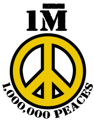 "The ""Million Peaces"" Contest logo"