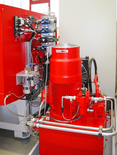 A new hybrid drive system of transfluid provides more precision energy efficienc