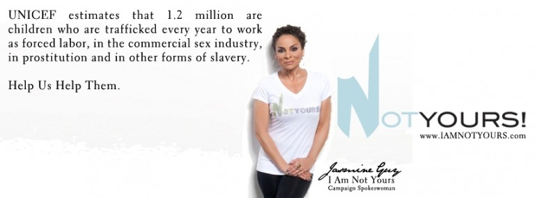 Join the IamNOTYours Campaign today with National Spokeswoman Jasmine Guy