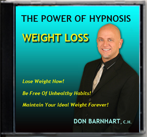 Lose weight, stop smoking and achieve your goals with hypnotist Don Barnhart