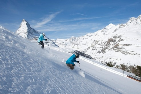 Zermatt Skiing