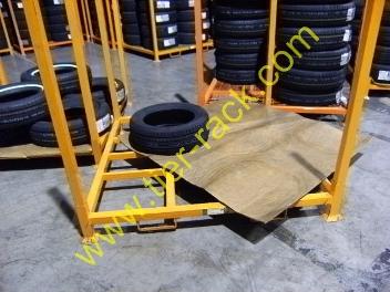 Portable Tire Rack