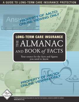 Long term care insurance facts statistics published www.aaltci.org