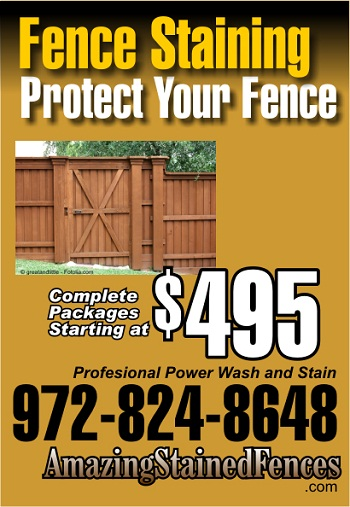 Amazing Stained Fences Introduces Quality Wood Fence