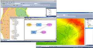SuperGIS Desktop 3.1a and SuperGIS Spatial Statist