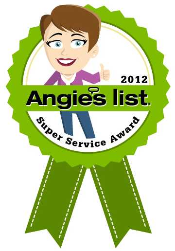 Angies List - Super Service Award