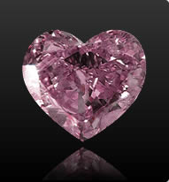 0.36 Carat Radiant Cut Fancy Intense Pink Diamond
