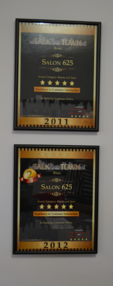 2011 and 2012 Excellence In Customer Satisfaction Awards