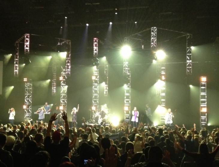 Planetshakers lead worship at the Planetshakers Limitless Conference