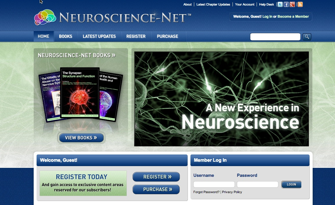 Neuroscience Homepage
