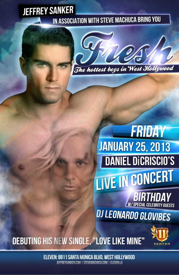 Daniel DiCriscio LIVE IN CONCERT Birthday Event
