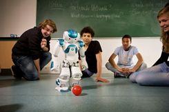 NAO in Class (ALDEBARAN Robotics)