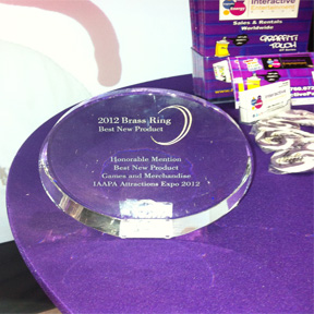 Best New Product @ IAAPA 2012
