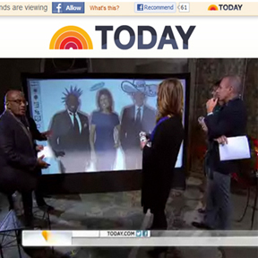 Virtual Graffiti Wall featured on The TODAY Show