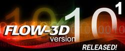 FLOW-3D v10.1 released