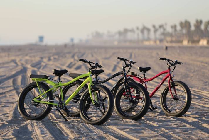 Pedego Electric Bikes Unveils the 2013 Trail Tracker, an off-road electric bike.