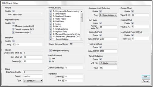 SEP 2.0 Ad Hoc Client Tester DRLC Event Editor