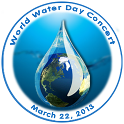 World Water Day Concert, March 22, 2013 - St Peter's Church 619 Lex Ave, NY, NY
