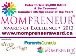 2013 Mompreneur® Award of Excellence