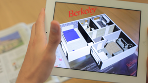 3D Property visualisation app created by Junk Beam for print advertising