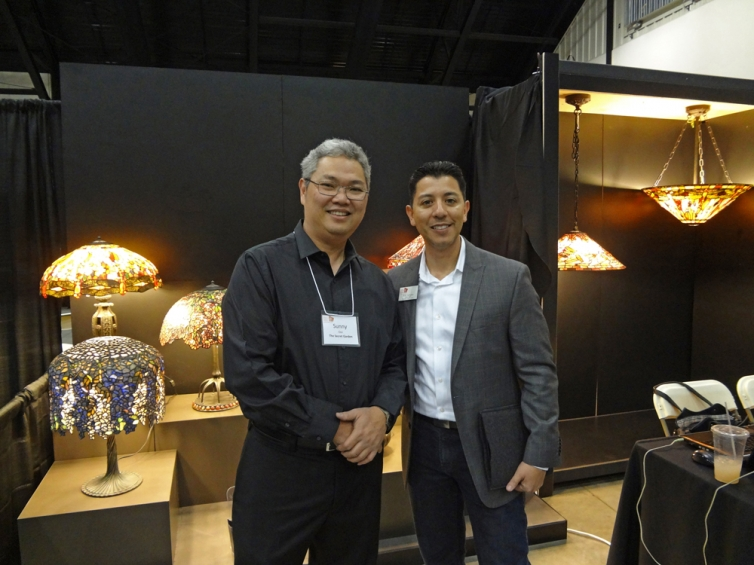 Sunny Ooi and Rick Campos, the President of ASID Orange County Chapter