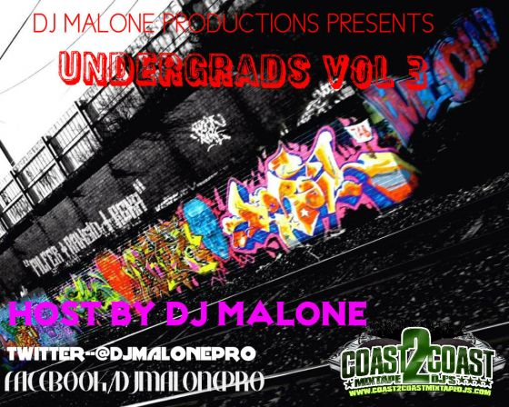 Under Grads Mixtape Cover vol 3