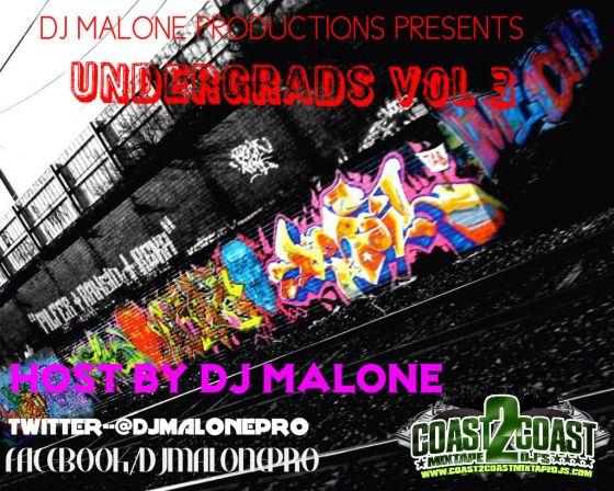 Under Grads Mixtape Cover vol 3