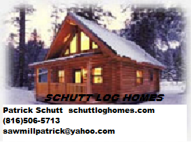 Schutt Log Homes and Mill Works, 1000 sq ft, Lake House