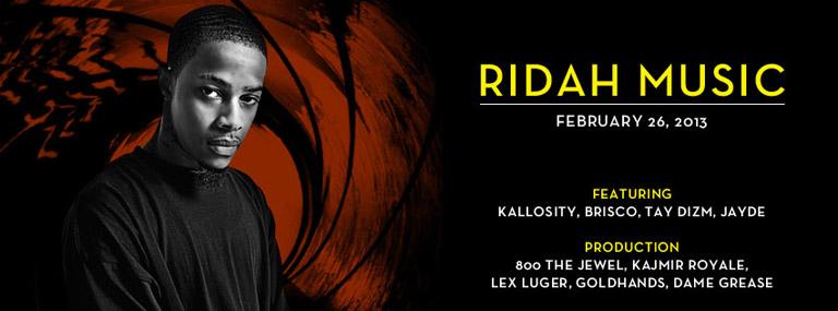 Ridah Music February 26