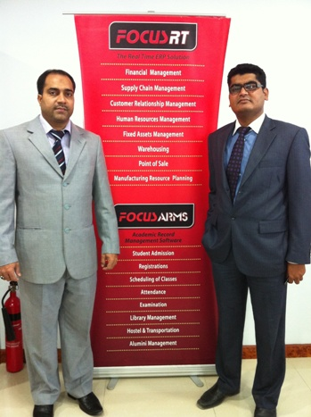 Mr  Ali Hasan and Baqtiyar - Focus softnet (2)