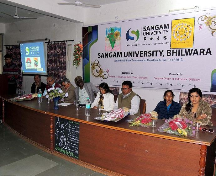 Sangam University National Girl Child Day - Everest Conqueror Anshu Speaks