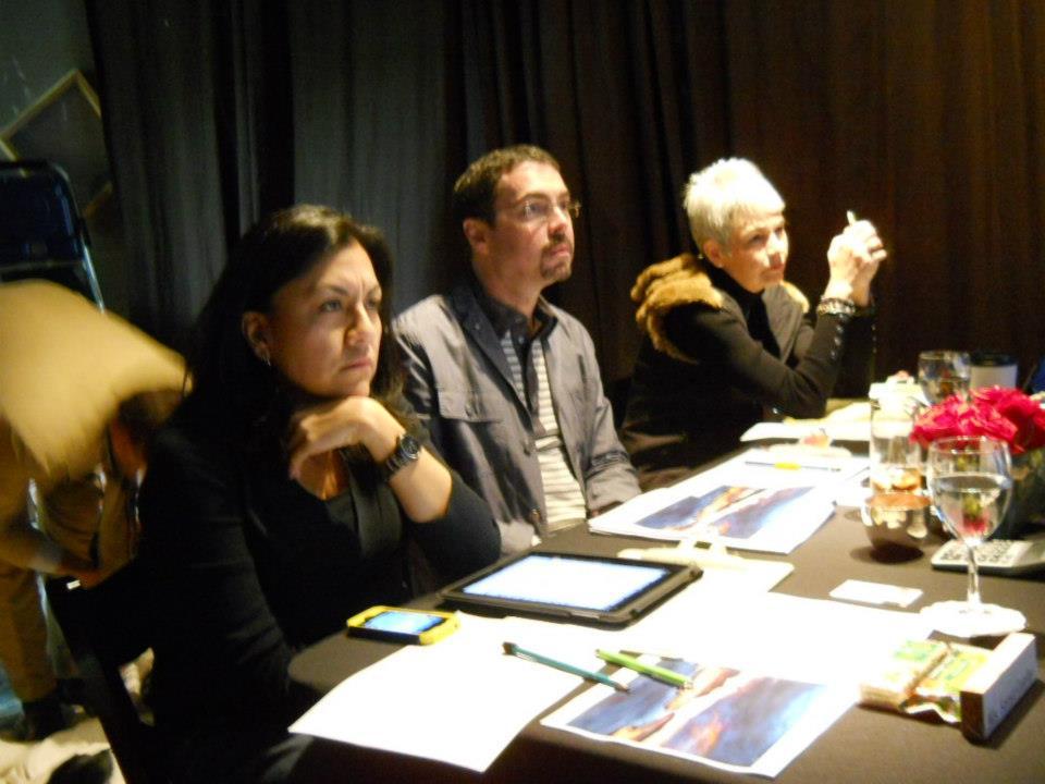 Sonya Cuellar, Steven Tesney & Ellen Yarrell