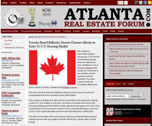 Ballantry Homes on Atlanta Real Estate Forum