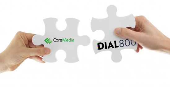CoreMedia and Dial800 Partnership