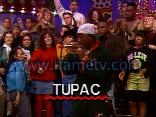 "iFame TV Exclusive - Tupac live on ""Dance Party USA"""