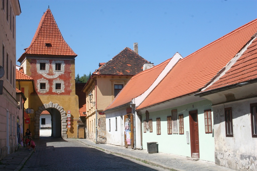 The town gates of Cesky Krumlov