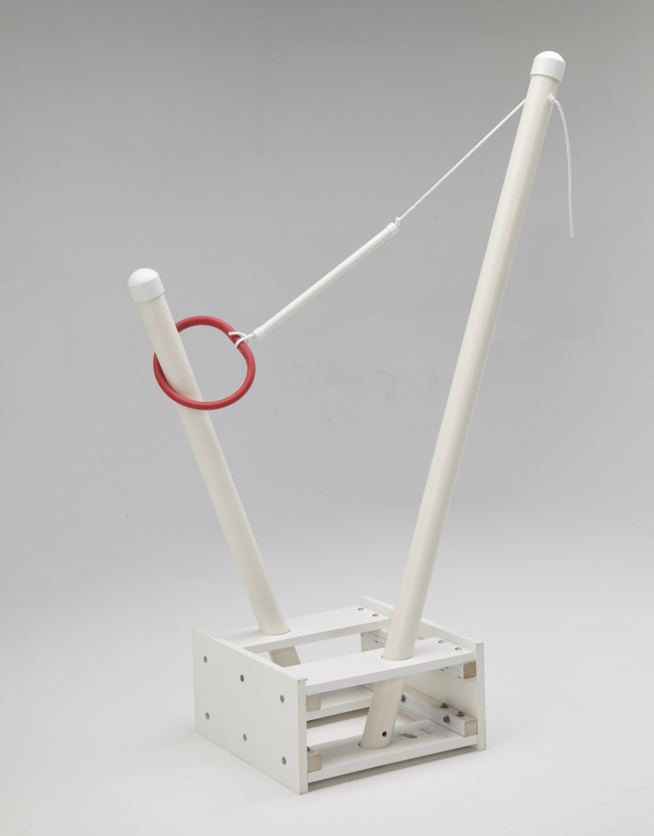 601811R_Orbiter ring toss/sculpture