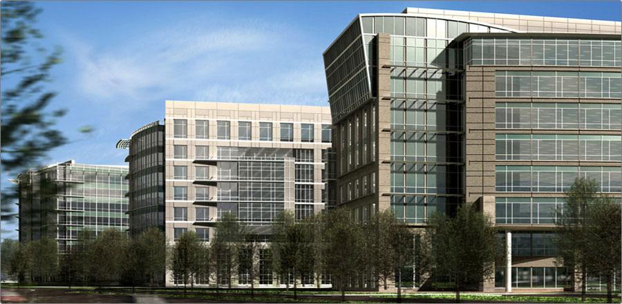 Moffett Towers, Best Speculative Deal, Rendering by Waibun Lett & Ginny Yi