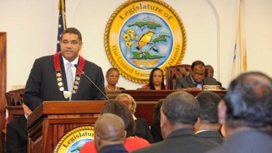 Gov. John P. de Jongh, Jr. Delivers 2013 State of the Territory Address