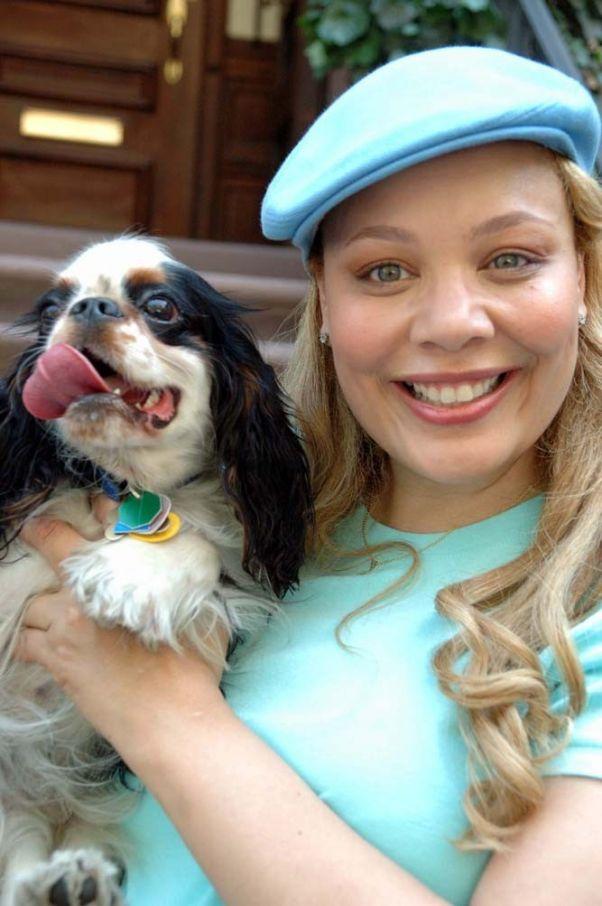 Charlotte Reed & her dog, Hudson