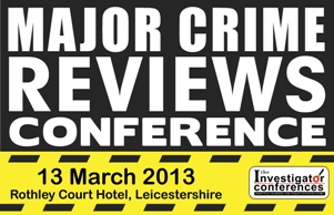 Major Crime Reviews Conference