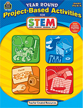 TCR3024 Year Round Project-Based Activities for STEM Grades PreK–K