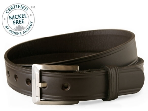 Genuine Leather with Titanium Buckle -Mt. Mitchell